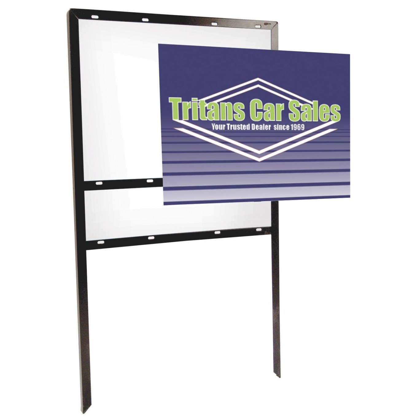 18″ X 24″ Angle Iron Frame Double-Sided Replacement with regard to 18 X 24 Frame