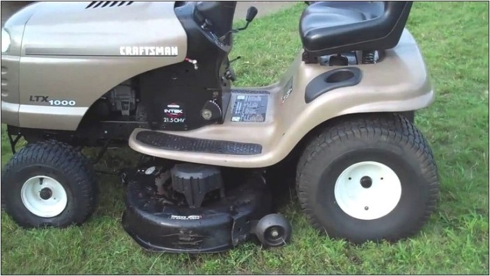 1998 Craftsman Riding Lawn Mower | Home And Garden Designs regarding Briggs And Stratton Lawn Mower Won'T Start After Sitting