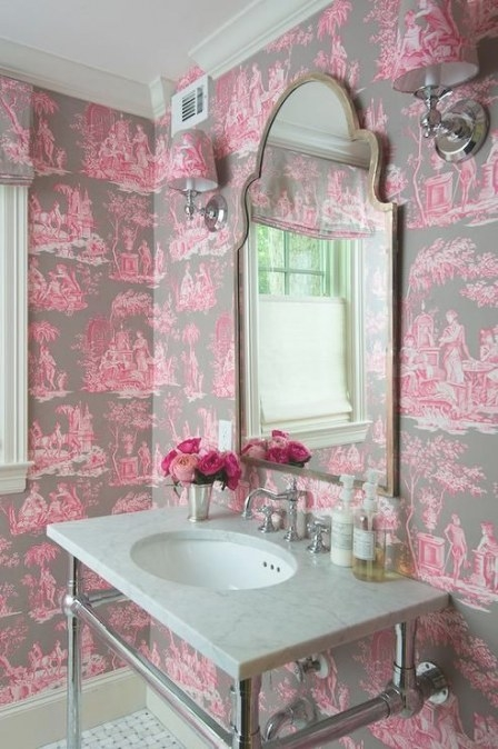 22 Best All Things Flamingo Images On Pinterest with regard to Pink And Brown Bathroom