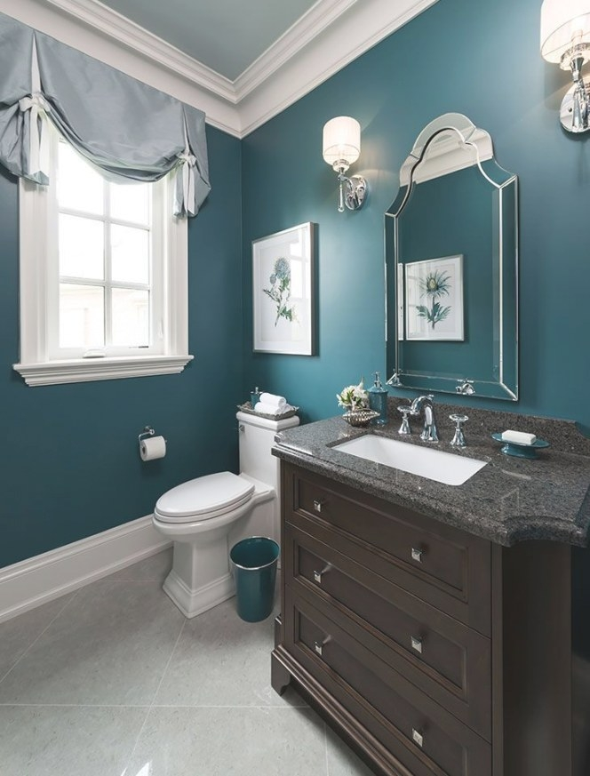 2270 Best Teal Decor Images On Pinterest | Color throughout Teal And Brown Bathrooms