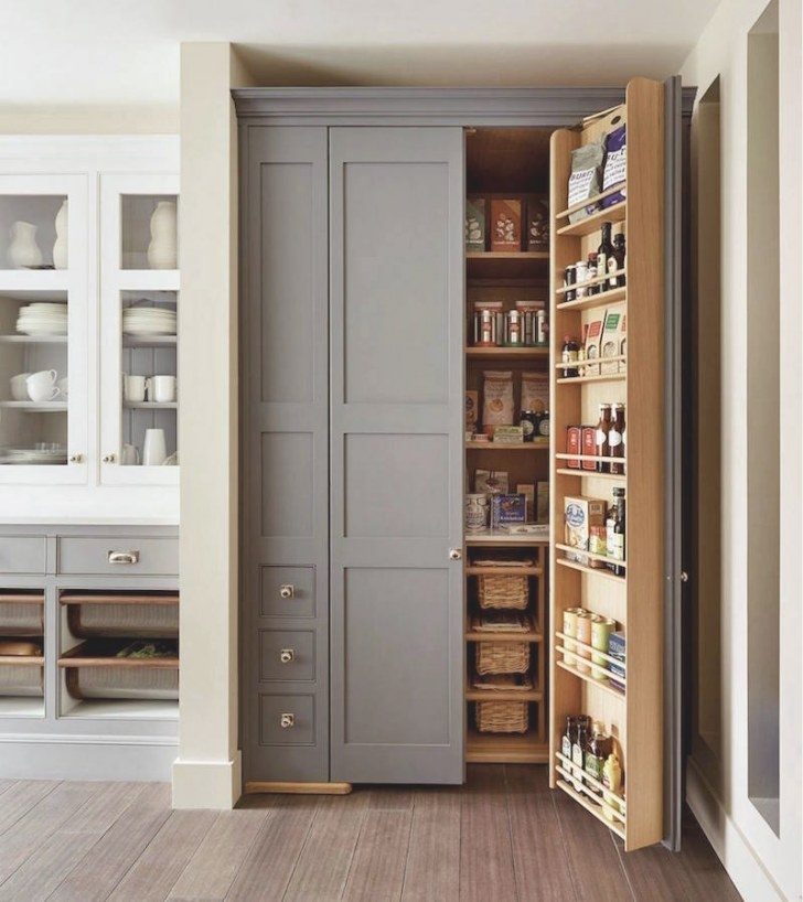 25 Sumptuous Kitchen Pantries - Old, New, Large, Small And throughout Kitchen Pantry Storage Cabinet