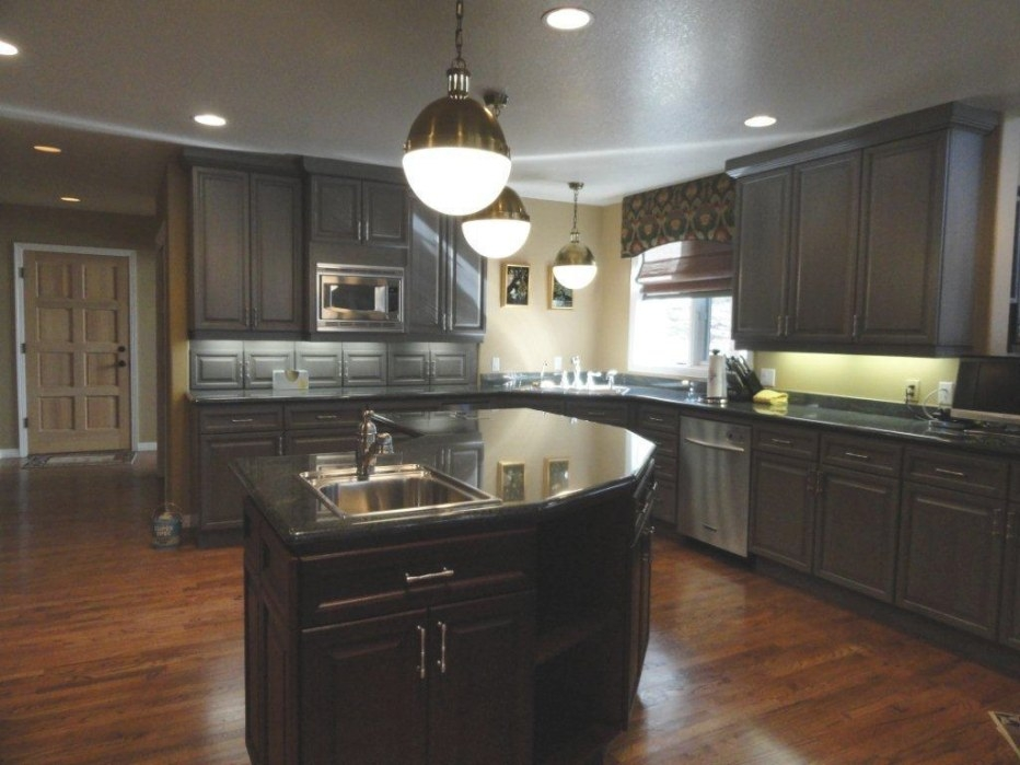 25 Traditional Dark Kitchen Cabinets  - Godfather Style inside Dark Brown Kitchen Cabinets
