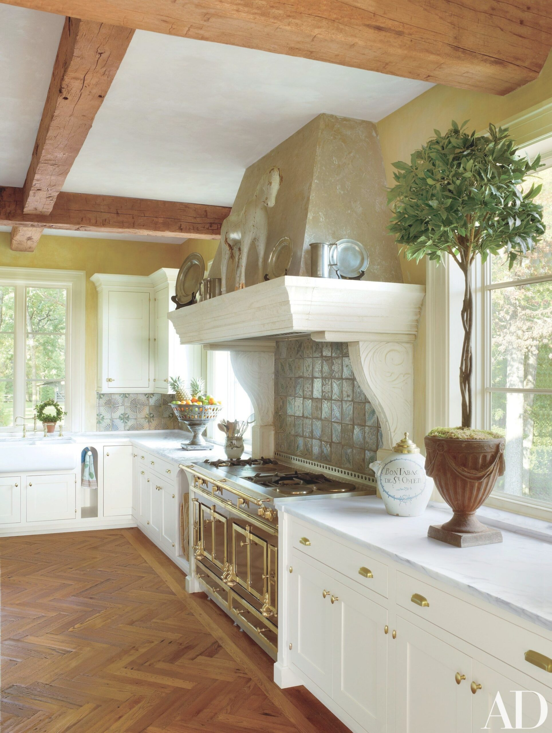 29 Rustic Kitchen Ideas You'Ll Want To Copy | Rustic with Italian Tile Backsplash Kitchens