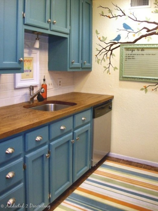 30 Best Should I? Teal Kitchen Walls Images On Pinterest for Teal And White Kitchen