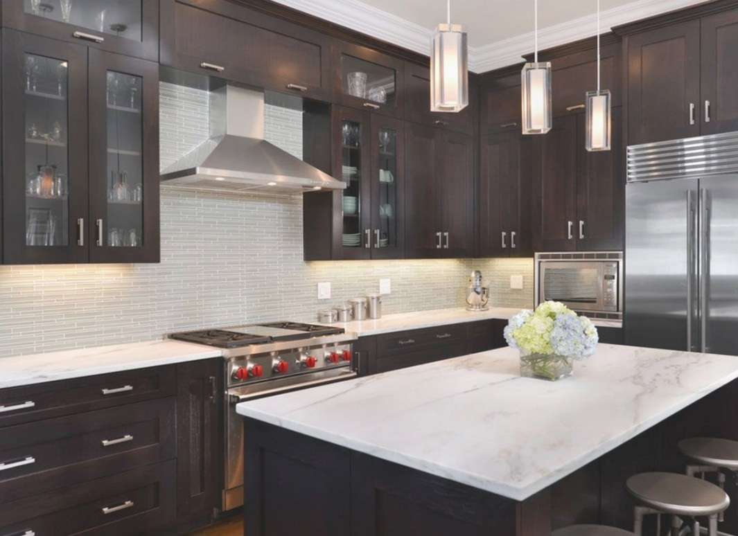 30 Classy Projects With Dark Kitchen Cabinets In 2020 pertaining to Dark Brown Kitchen Cabinets