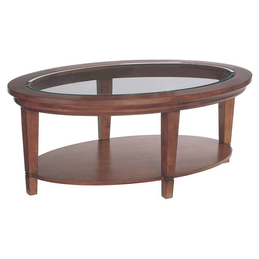 30 Collection Of Oval Glass And Wood Coffee Tables inside Wood And Glass Coffee Table