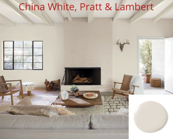 30+ White Paint: According To Best Interior Designers For regarding Benjamin Moore China White
