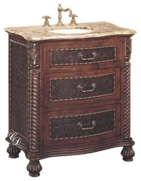 32 Inch Traditional Single Sink Bathroom Vanity regarding 32 Inch Bathroom Vanity