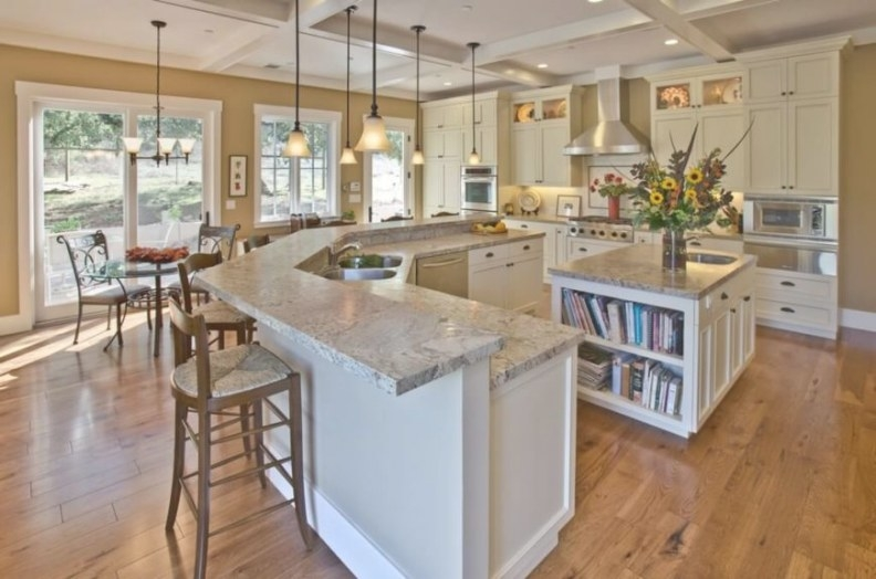 34 Fantastic Kitchen Islands With Sinks in Kitchen Island With Sink