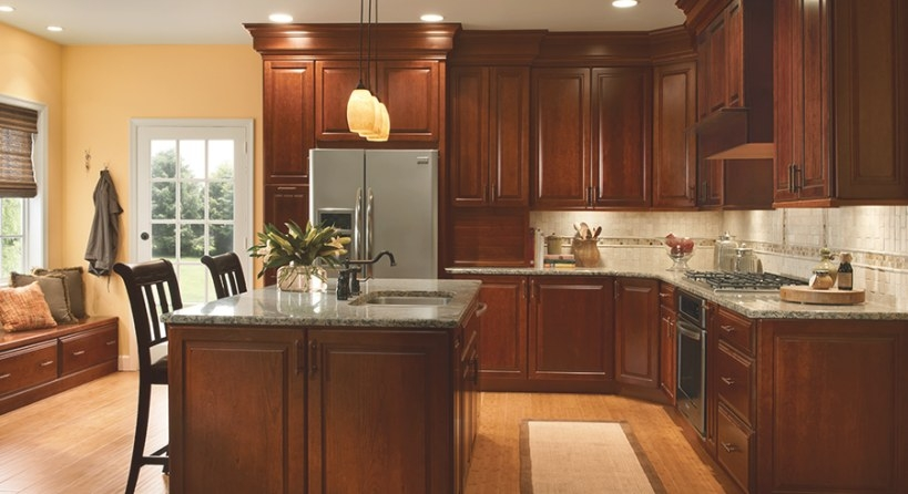 4 Unique Ways To Use Cherry Cabinets In Your Kitchen with regard to Cherry Wood Cabinet Kitchens