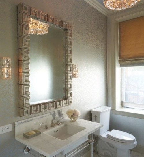 40+ Creative Ideas For Bathroom Accent Walls - Designer Mag with Accent Walls In Bathrooms