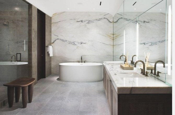 40+ Creative Ideas For Bathroom Accent Walls - Designer Mag with regard to Accent Walls In Bathrooms