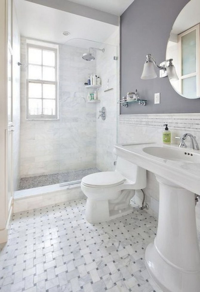 41+ Cool Small Studio Apartment Bathroom Remodel Ideas pertaining to Pics Of Small Bathrooms