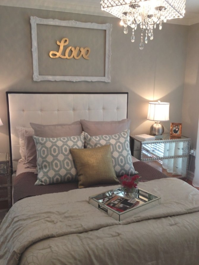 43 Best Silver And Gold Bedroom Images On Pinterest intended for Silver And Gold Bedroom