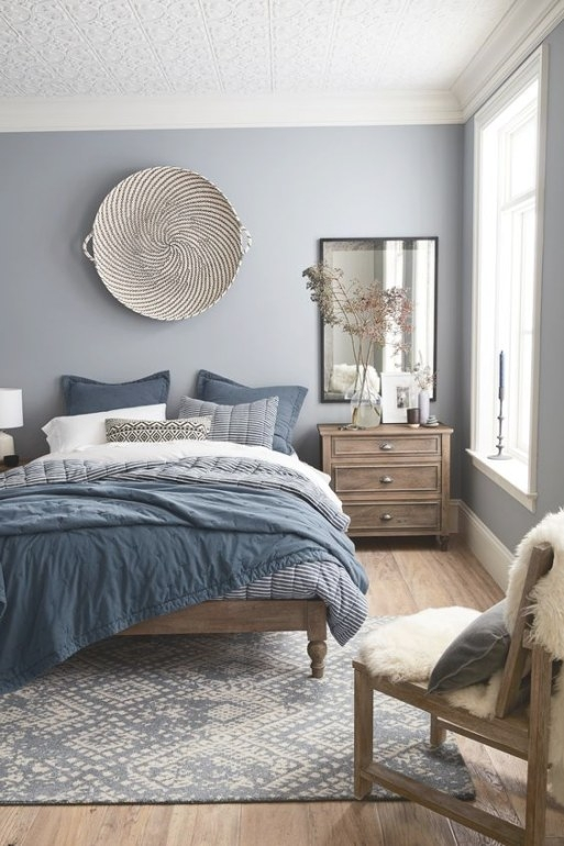 47 Beautiful Blue And Gray Bedrooms - Digsdigs inside Blue Grey And White Bedroom