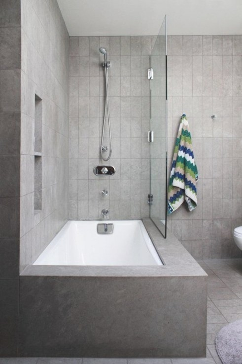 5 Fresh Ways To Shake Up The Look Of A Bathtub/Shower inside Soaking Tub Shower Combo