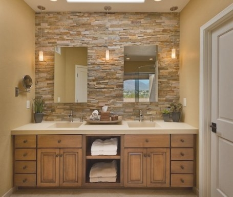 5 Lovely Bathroom Accent Wall Design Ideas with regard to Accent Walls In Bathrooms