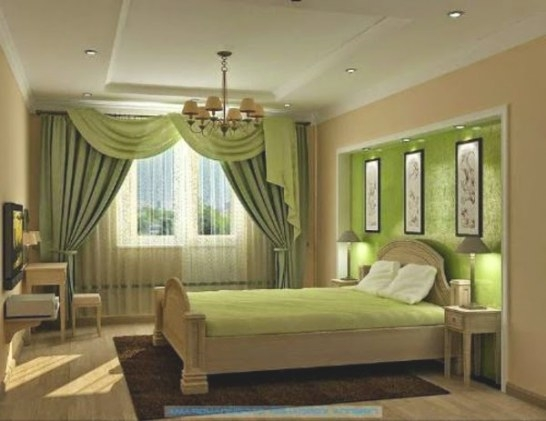 5 New Stylish Bedroom Curtains Ideas For 2015 pertaining to Curtain Designs For Bedroom