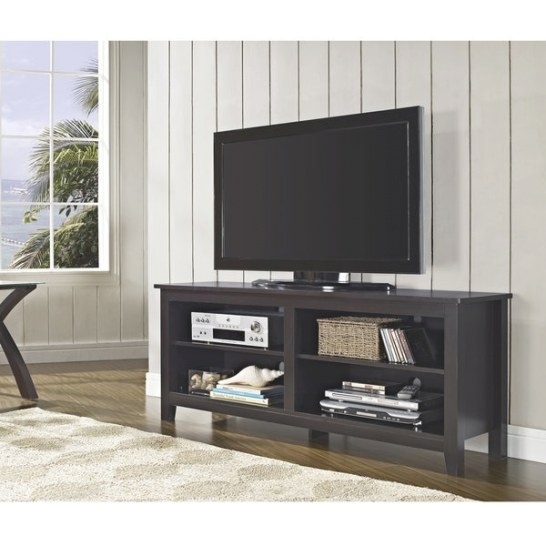 58 Inch Espresso Wood Tv Stand - Overstock™ Shopping inside 80 Inch Tv Stand