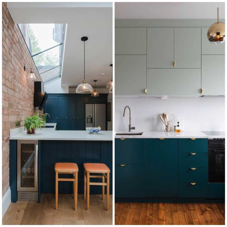 6 Creative Ways To Include Teal In Your Kitchen in Teal And White Kitchen