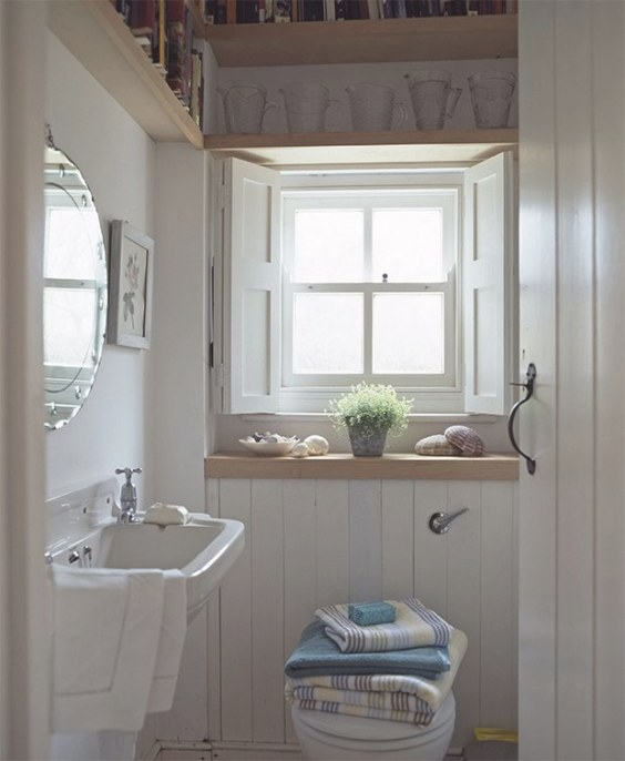 6 Decorating Ideas To Make Small Bathrooms Big In Style pertaining to Small Privacy Window Bathrooms