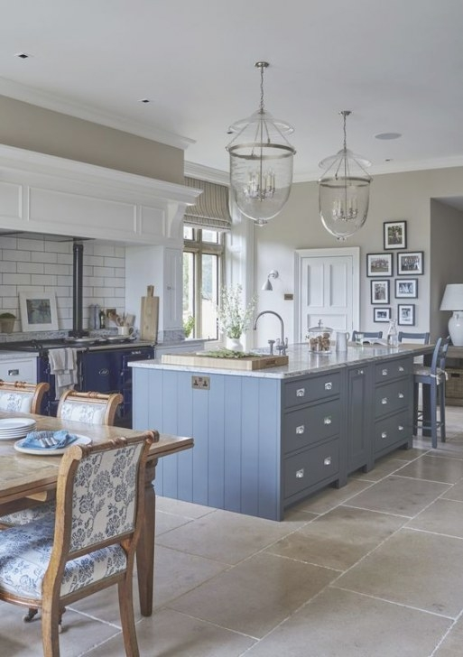 6 Dreamy Blue Kitchens For This Spring | Interior Design with Blue And Grey Kitchen