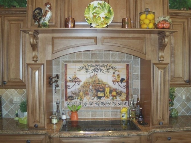 66 Best Design: Backsplashes/Borders Images On Pinterest pertaining to Italian Tile Backsplash Kitchens
