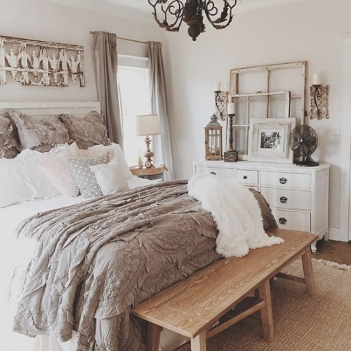 68 Rustic Bedroom Ideas That'll Ignite Your Creative Brain regarding White And Wood Bedroom