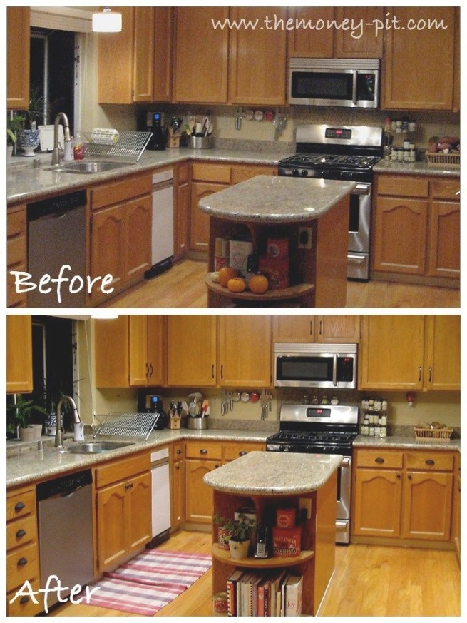 7 Ideas For Updating Wood Rv Cabinets (Without Painting inside Update Brown Cabinets In Kitchen