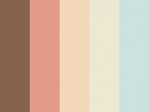74 Best Art&Design | Color Palettes Images On Pinterest throughout Blue And Brown Color Palette