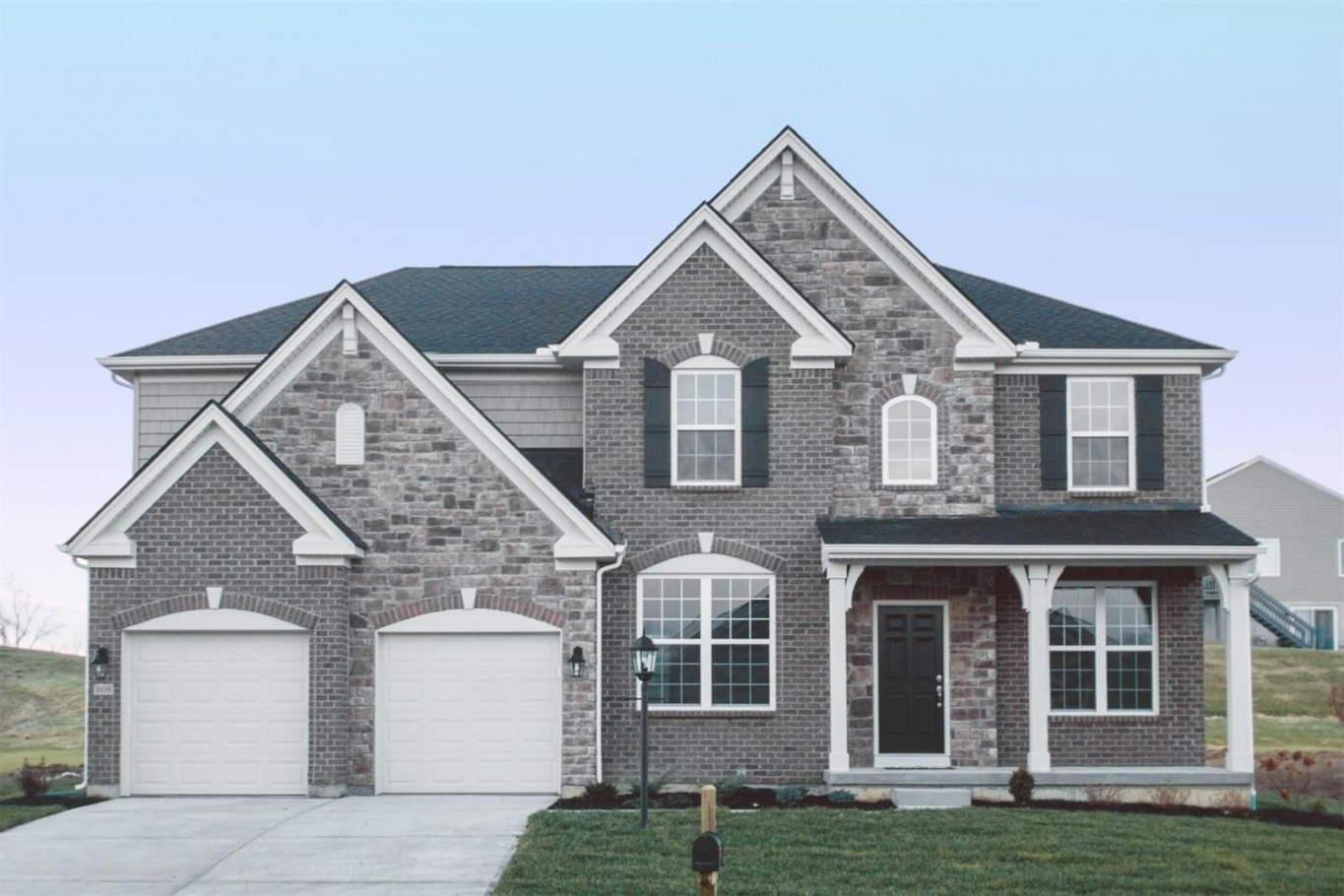 808 Lakerun Ln, Erlanger, Ky 41018 Listing Details: Sibcy throughout Brick And Stone Homes