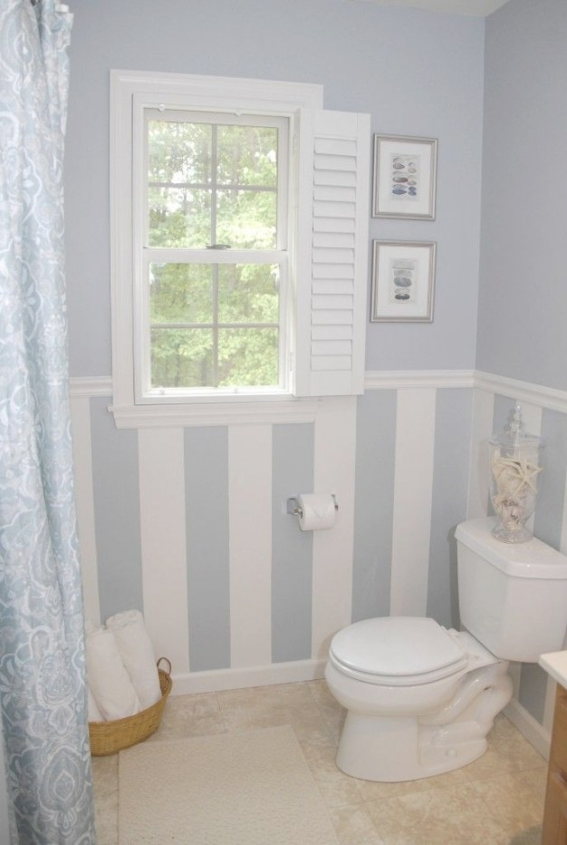 $88 Bathroom Makeover (Plus A Drool-Worthy Diy Window inside Small Privacy Window Bathrooms