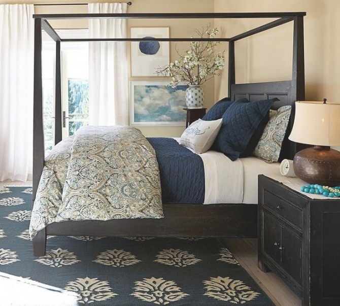 92 Best Bedroom: Navy Blue And Gold Images On Pinterest in Navy Blue And Gold Bedroom