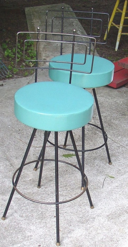 987 Best Teal,Tiffany And Turquoise Images On Pinterest intended for Turquoise Bar Stools Kitchen