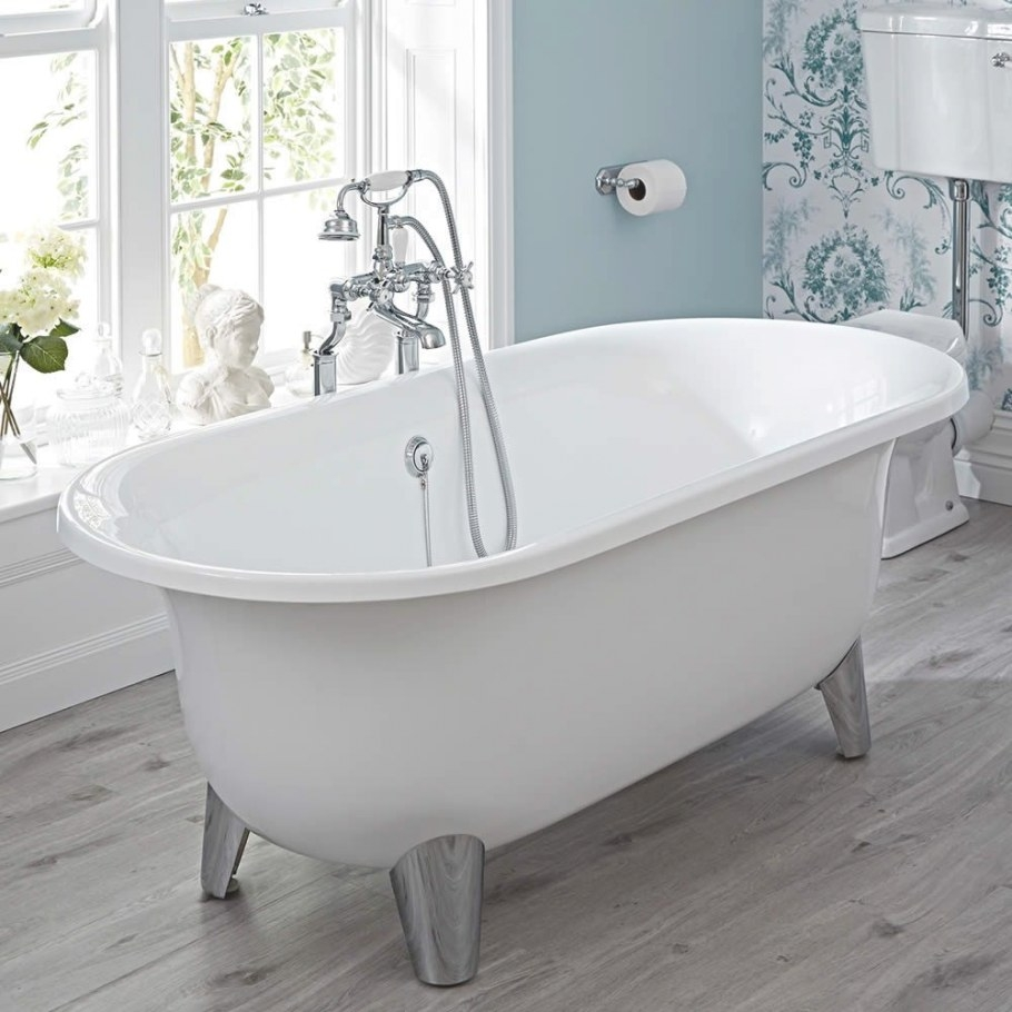 Acrylic Oval Shaped Free Standing Bath Tub With Choice Of within Free Standing Tub Shower