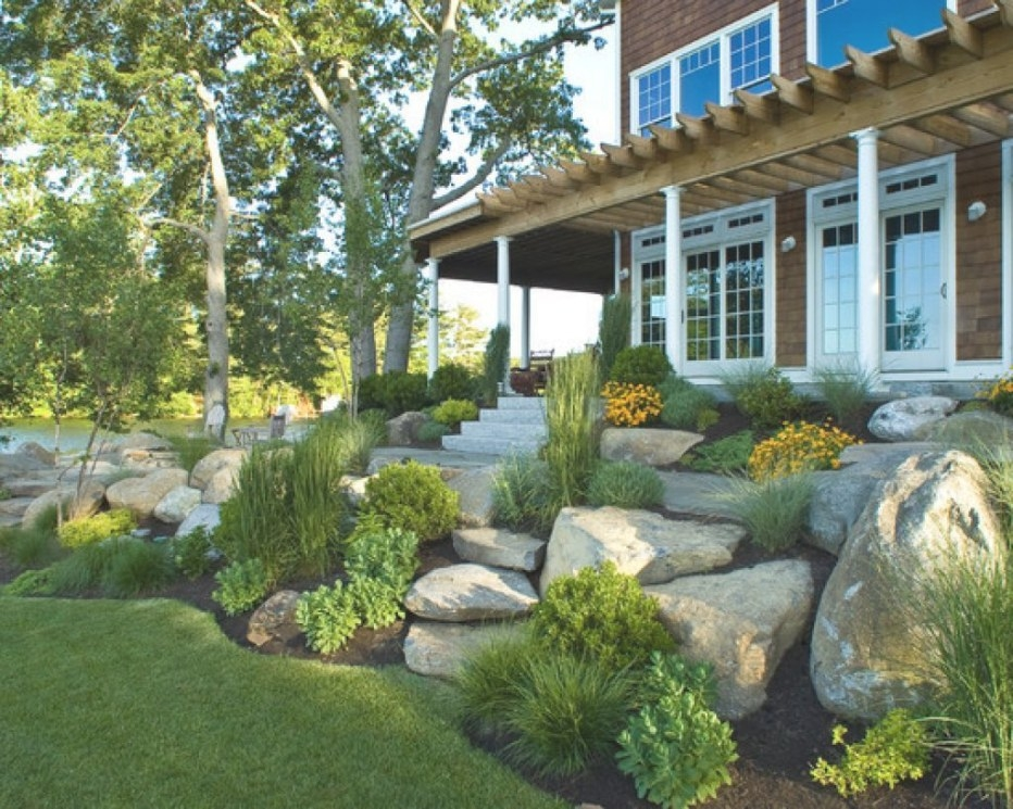 Amazing Rock Landscaping Ideas For Front Yard Styles inside Front Yard Landscaping Ideas