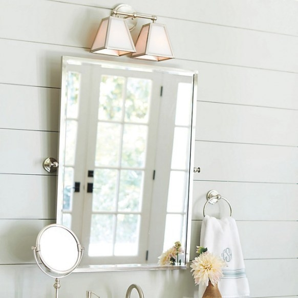 Amelie Rectangular Pivot Mirror - Traditional - Bathroom with regard to Rectangular Mirrors For Bathroom