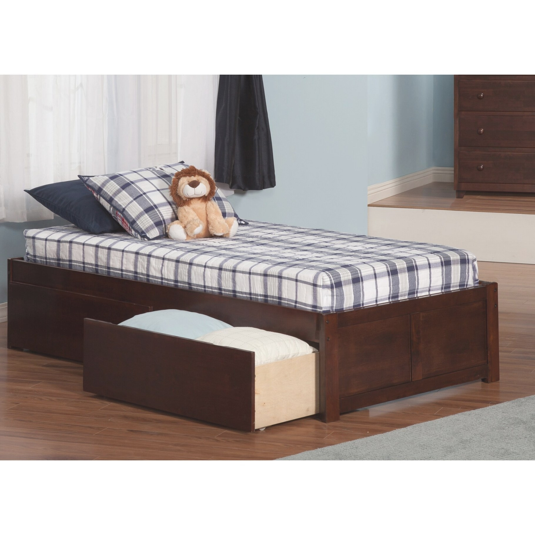Andover Mills Mackenzie Extra Long Twin Platform Bed With inside Extra Long Twin Bed