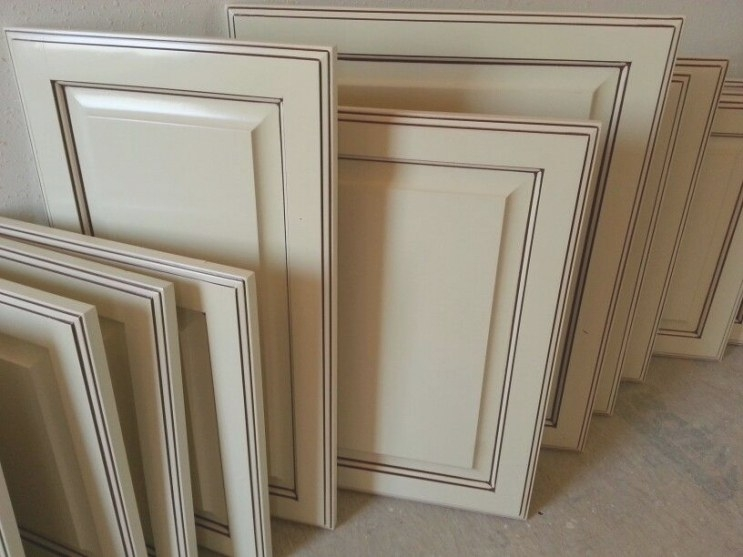 Antique White Glazed Cabinet Doors; ) | Recent Work: Great regarding White Kitchen Cabinet Doors