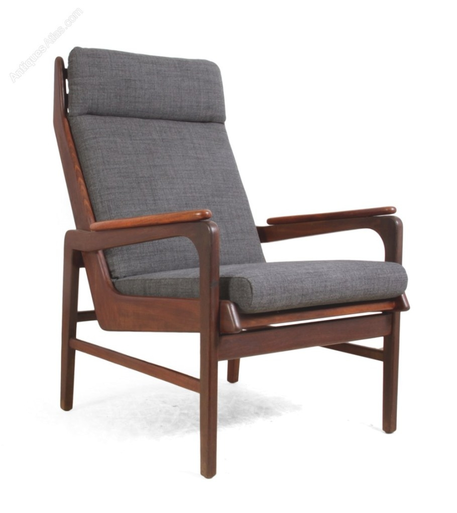 Antiques Atlas - Mid Century Teak Lounge Chair inside Mid Century Lounge Chair