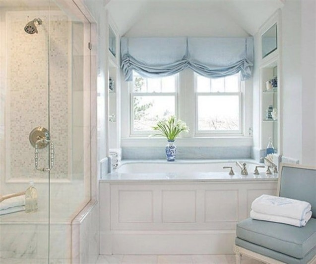 Appropriate And Stylish Bathroom Window Treatments with regard to Small Privacy Window Bathrooms
