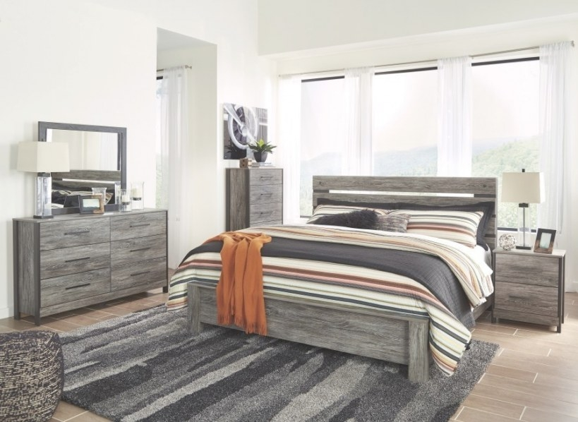 Ashley Cazenfeld Panel Bedroom Set In Black/Grey | Best inside Is Ashley Furniture Good Quality