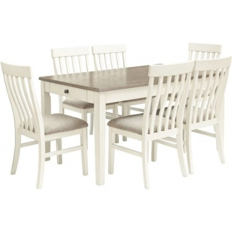Ashley Furniture Freimore Rectangular Drum Table Set - 5Pc throughout Is Ashley Furniture Good Quality