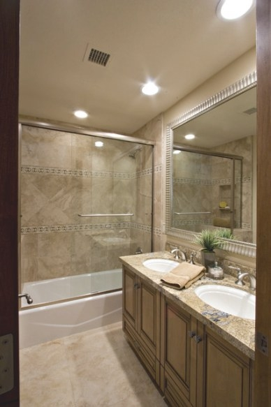 Aster Drive Kids Bath Remodel - Traditional - Bathroom pertaining to Tiled Shower Ideas For Small Bathrooms