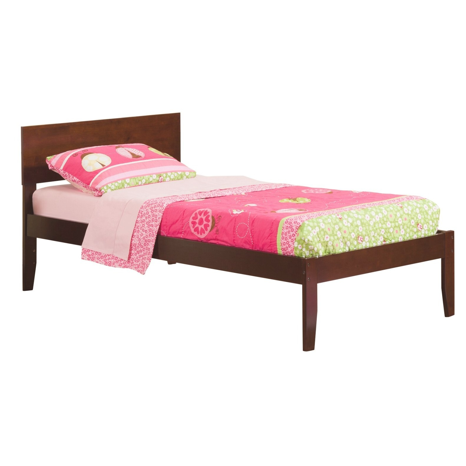 Atlantic Furniture Orlando Extra Long Twin Panel Bed for Extra Long Twin Bed