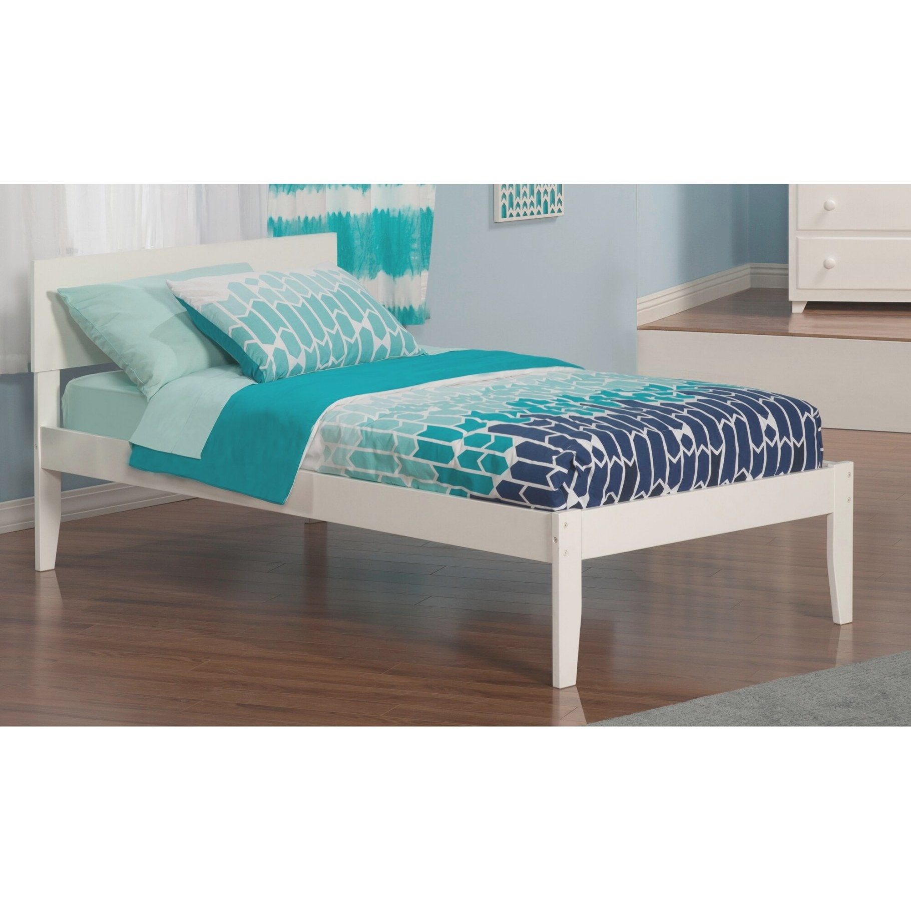 Atlantic Furniture Orlando Extra Long Twin Panel Bed inside Extra Long Twin Bed