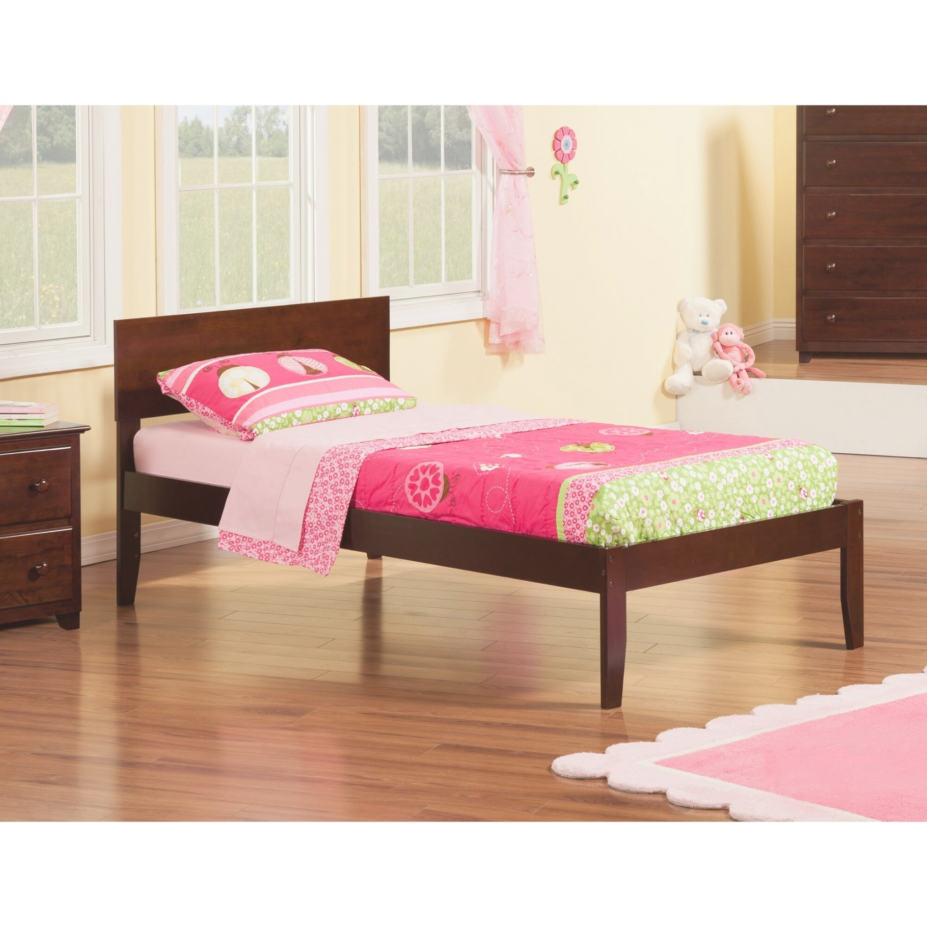 Atlantic Furniture Orlando Extra Long Twin Panel Bed pertaining to Extra Long Twin Bed