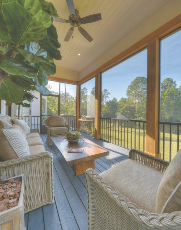 Attractively Awesome Screen Porch Designs To Be Inspired inside Screened In Porch Ideas
