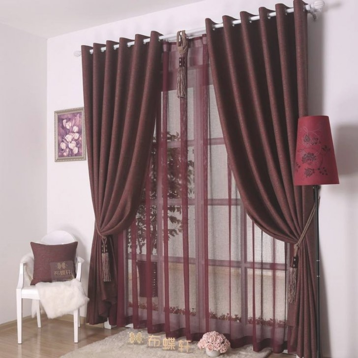 Awesome Living Room Curtain Designs with regard to Curtain Designs For Bedroom