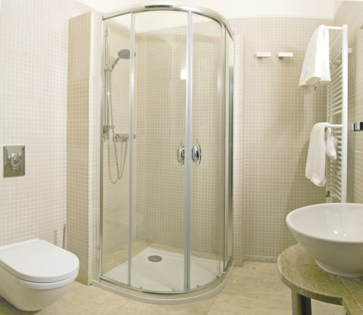 Basement Bathroom Ideas With Spacious Room Designs - Amaza intended for 3/4 Bathroom Layout